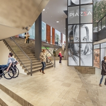 Piazza Center Artist Impressions
